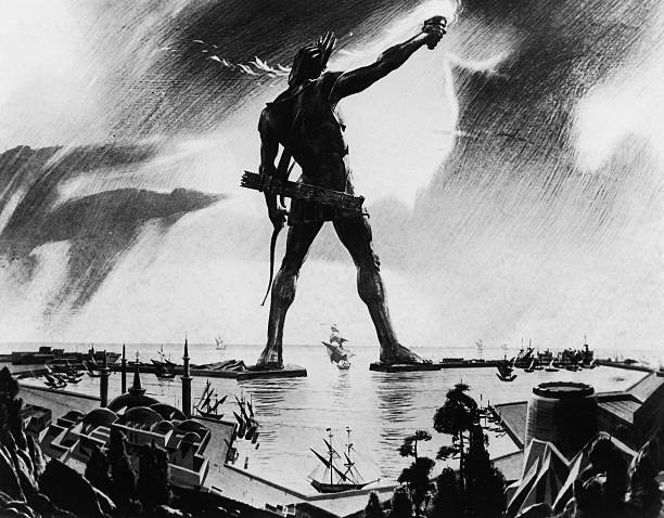 Colossus Of Rhodes Wall Art