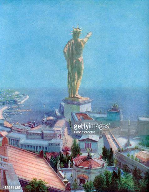 The Colossus of Rhodes Greece 19331934 The Colossus of Rhodes was a colossus of the Greek god Helios erected on the Greek island of Rhodes by Chares...