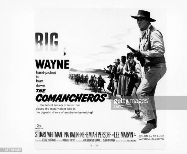 Lee Marvin Patrick Wayne Ina Balin Stuart Whitman John Wayne 1961