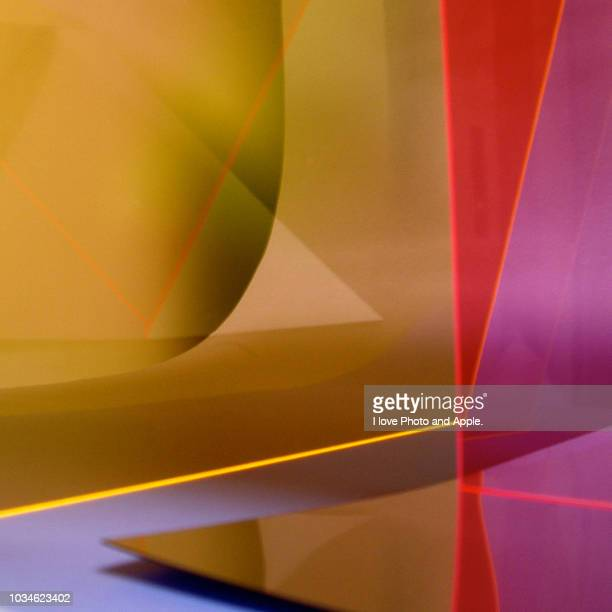 the combination of acrylic material - acrylic glass stock pictures, royalty-free photos & images