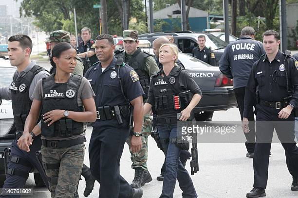 CHASE The Comeback Kid Episode 105 Pictured Jesse Metcalfe as Luke Watson Rose Rollins as Daisy Ogbaa Kelli Giddish as Annie Frost Photo by Bill...