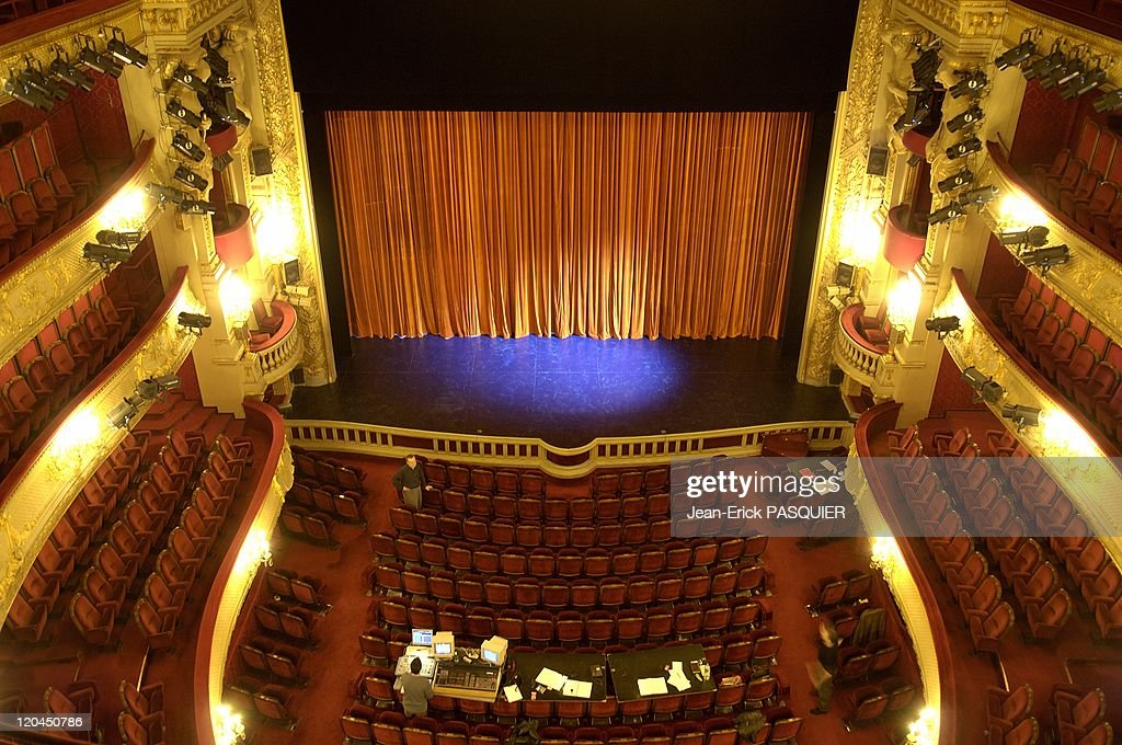 The Comedie Francaise In November, 2005 - : News Photo