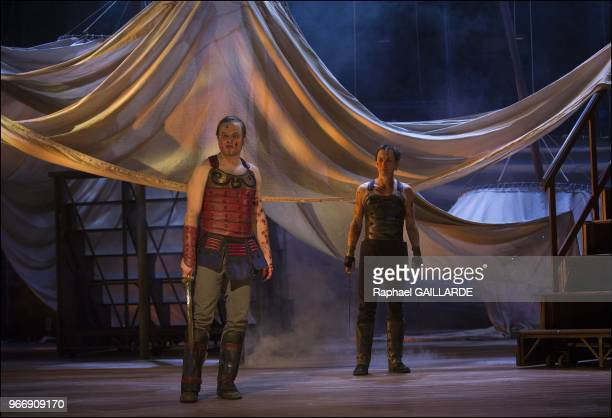 The ComedieFrancaise performs 'Troilus et Cressida' of William Shakespeare from January 26 2013 to May 5 2013 at theatre Ephemere on January 25 2013...