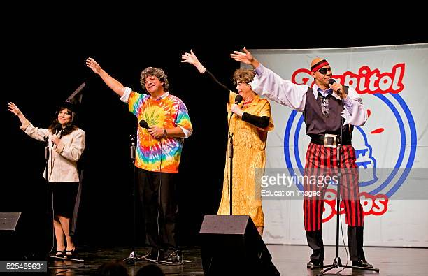 The Comedy Group Capitol Steps Preforms At The Sunset Center Carmel California