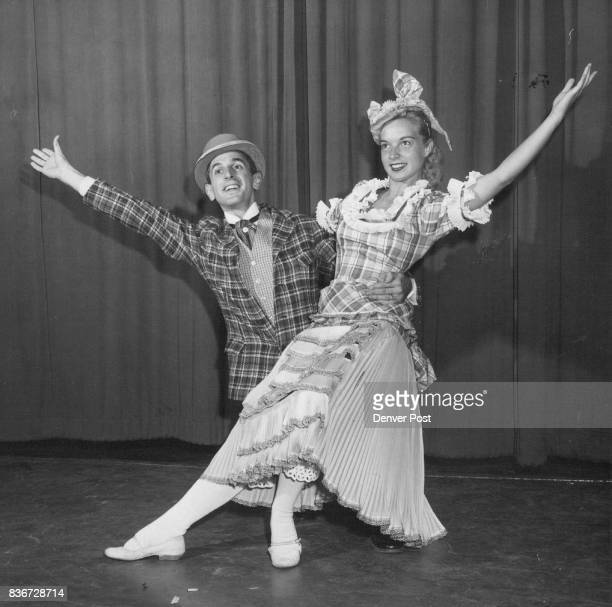 The Comic Dancing Duo Of Frank And Ellie Played By John Depuglio And Carolyn Reese Is