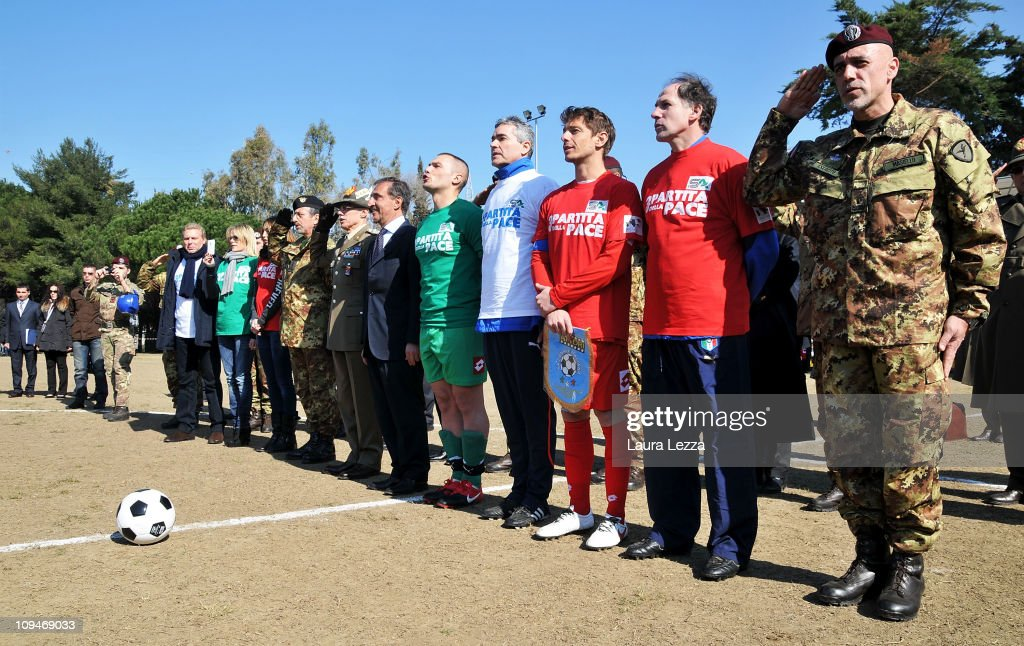 Nazionale Attori vs Folgore Football Match