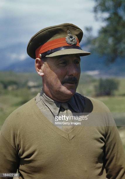 The Commander Of The Eighth Army In Italy Lieutenant General Sir Oliver Leese Italy 30 April 1944 Halflength portrait of Lieutenant General Sir...