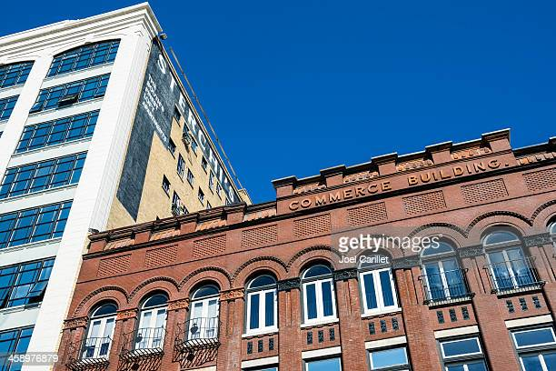 historic buildings in downtown knoxville tennessee - knoxville tennessee stock pictures, royalty-free photos & images