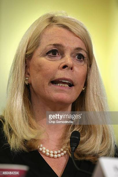 The Committee to Reduce Infection Deaths Chairman Betsy McCaughey testifies before the House Veterans' Affairs Committee about the bureacracy in...