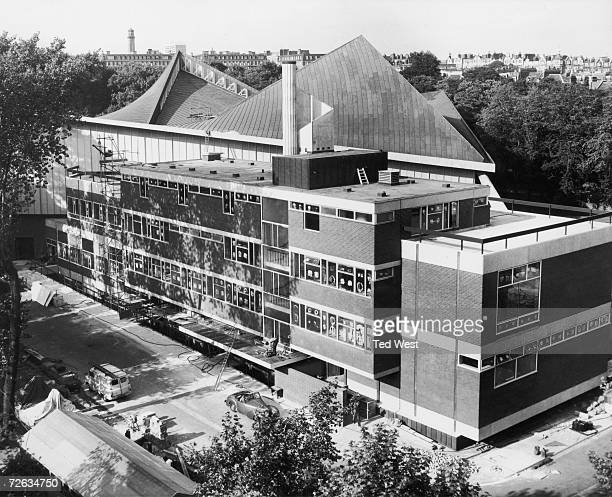 The Commonwealth Institute on Kensington High Street London 12th September 1962 The building which is near completion features a shellarch concrete...