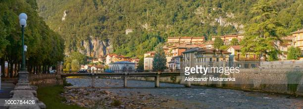 San Pellegrino Terme, Italy - August 18, 2017: the commune in Italy, is located in the region of...