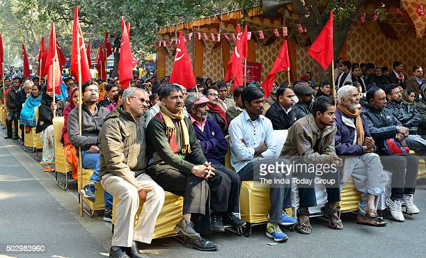 The Communist Party of India celebrating its 90th Year of foundation at New Delhi