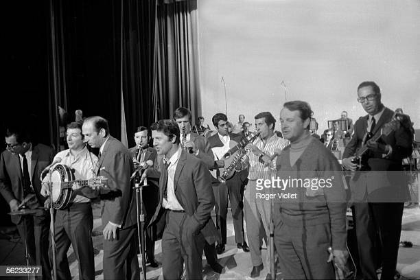 The Compagnons de la Chanson French singers Paris 1966 HA177227