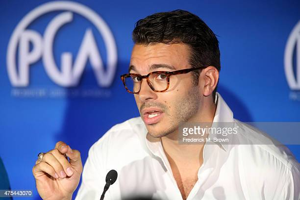 CEO The Company Charlie Ebersol speaks at the 7th Annual Produced By Conference at Paramount Studios on May 31 2015 in Hollywood California