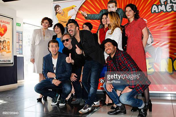 "The complete cast attends ""Friends as we"" photocall in Rome - Cinema Adriano"