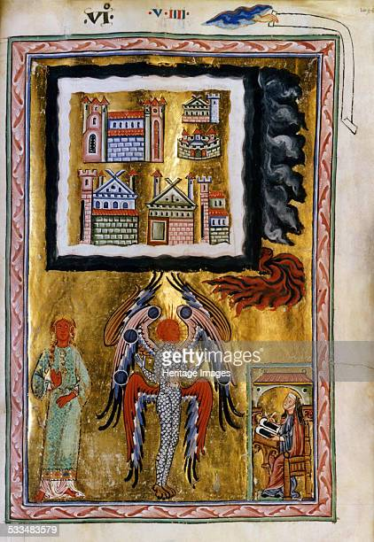 The Completion of the Cosmos ca 12201230 Found in the collection of Biblioteca Statale Lucca