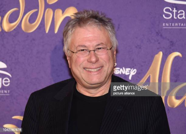 The composer Alan Menken arrives to the Theater Neue Flora for the premiere of the Disney musical 'Aladdin' in Hamburg Germany 06 December 2015...
