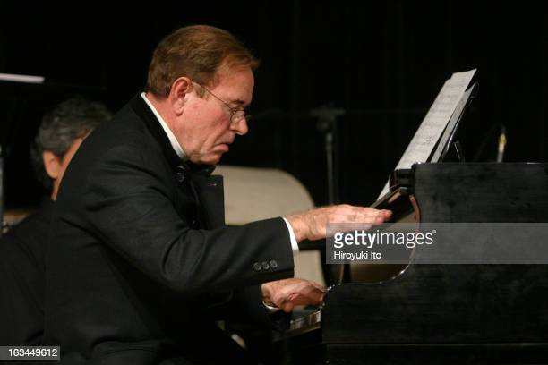 The composer David Del Tredici's 70th birthday celebration at Brooklyn Conservatory of Music on Saturday night March 17 2007This imageDavid Del...