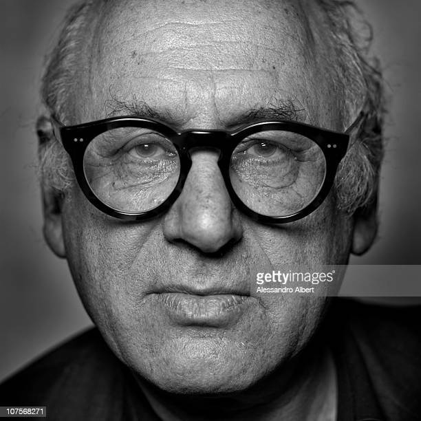 The composer Michael Nyman poses for a portrait on December 1 2010 in Turin Italy