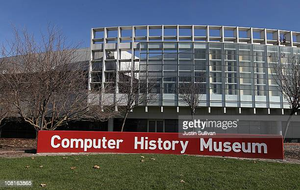 The Computer History Museum is seen on January 19, 2011 in Mountain View, California. After a two year, $19 million renovation, the Computer History...