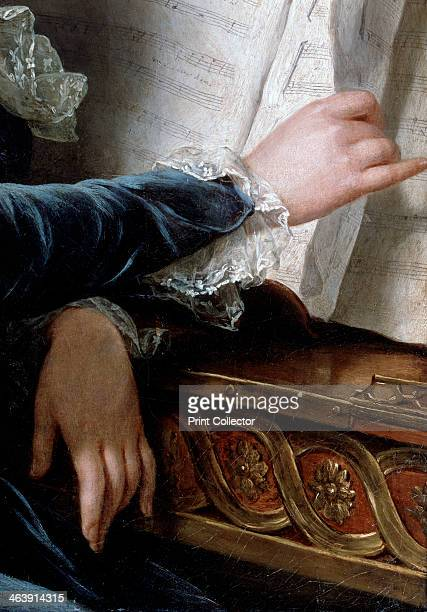 'The Comtesse de Selve Making Music' detail 1787 At the Salon of 1787 LabilleGuiard exhibited a work which was identified only as Madame de ***...
