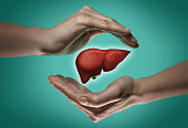 The concept of a healthy liver.
