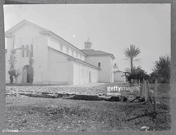 The Conception Church in Santa Tecla, San Salvador.