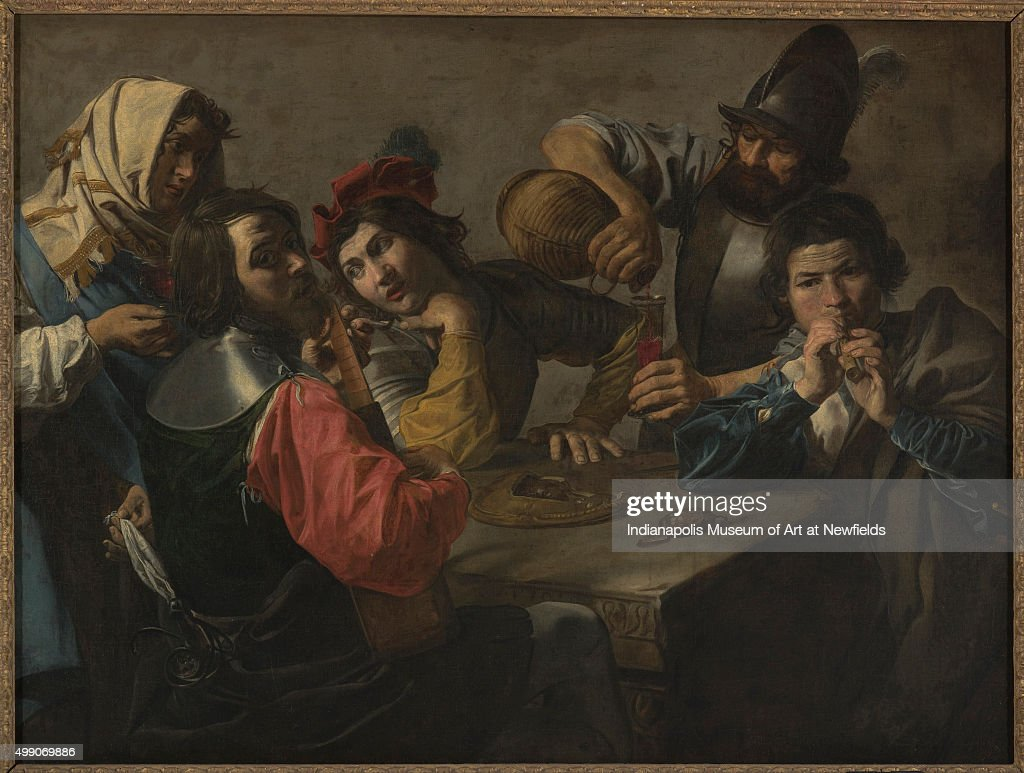 The Concert By French Artist Valentin De Boulogne About 1625 William A  Zumpfe Memorial Fund