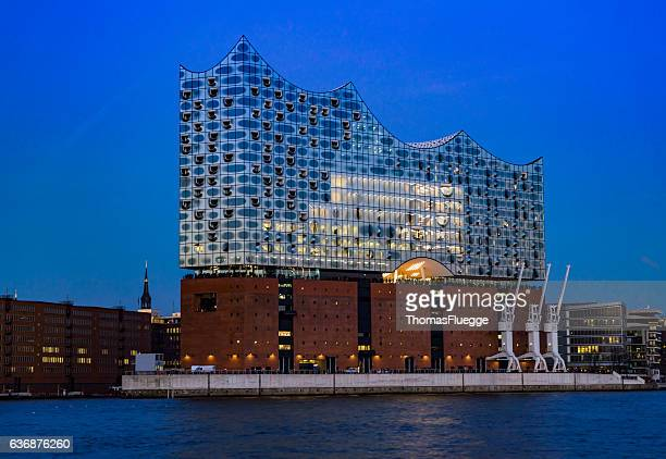 The Concert hall Elbphilharmonie in Hamburg
