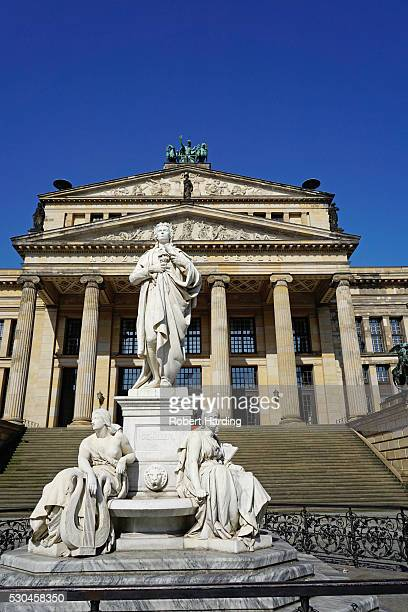 the concert house (konzerthaus), gendarmenmarkt, berlin, germany, europe - konzerthaus berlin stock pictures, royalty-free photos & images
