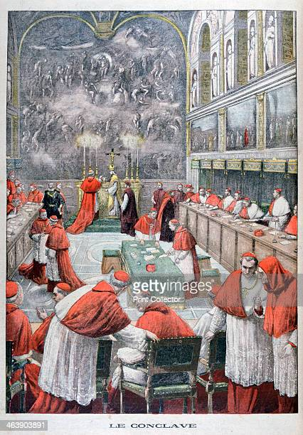 The Conclave 1903 The meeting held to elect a new pope after the death of the Pope Leo XIII Giuseppe Melchiorre Sarto Italian cardinal is elected...