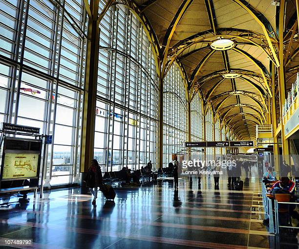 The concourse at Reagan National Airport near Washington, DC.