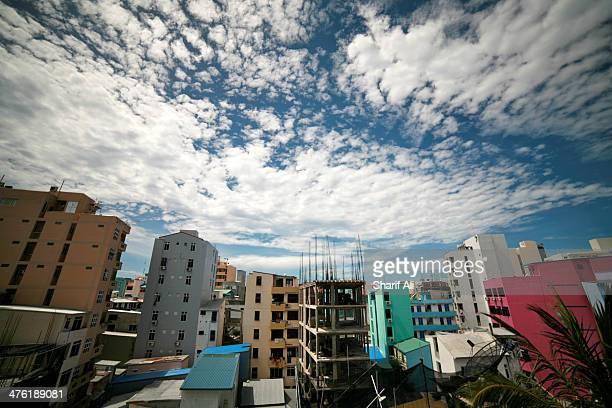 CONTENT] The concrete jungle that is Male' capital of Maldives