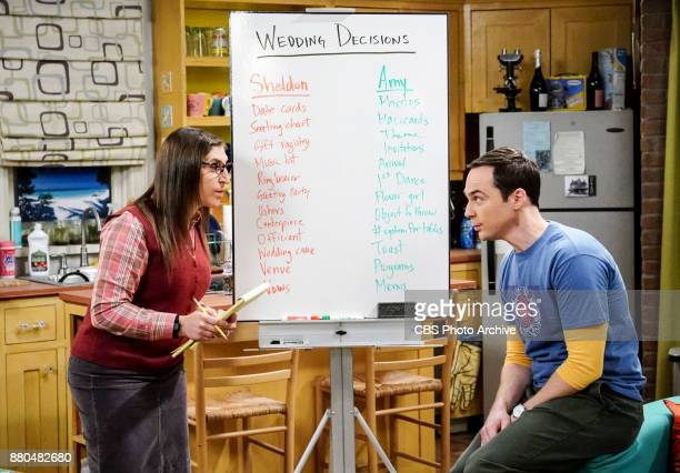 The Confidence Erosion Pictured Amy Farrah Fowler and Sheldon Cooper Sheldon and Amy try to eliminate stress from wedding planning by applying math...