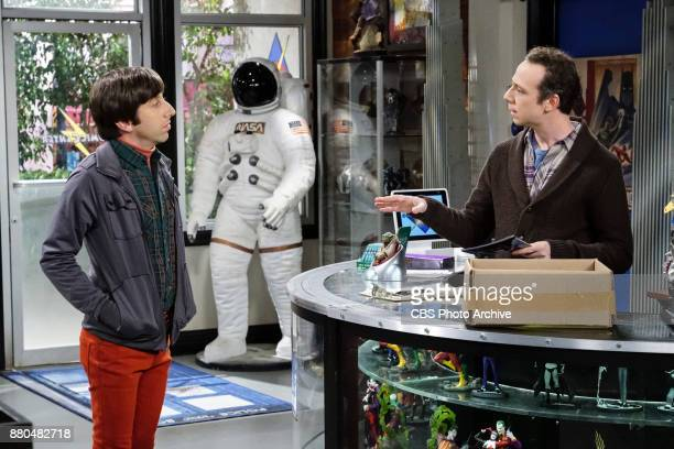 'The Confidence Erosion' Pictured Howard Wolowitz and Stuart Sheldon and Amy try to eliminate stress from wedding planning by applying math to the...