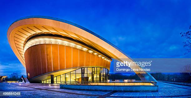 The Congress Hall is the Haus der Kulturen der Welt Germany, Capitol Berlin, District Mitte.
