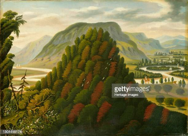 The Connecticut Valley, mid 19th century. Artist Thomas Chambers.