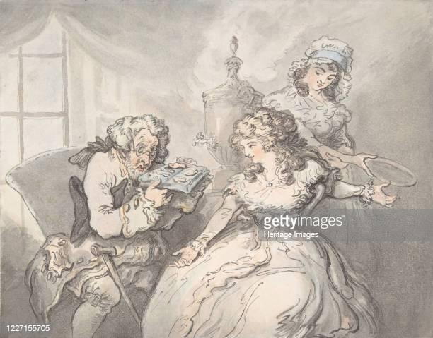 The Connoisseur 17801800 Artist Thomas Rowlandson