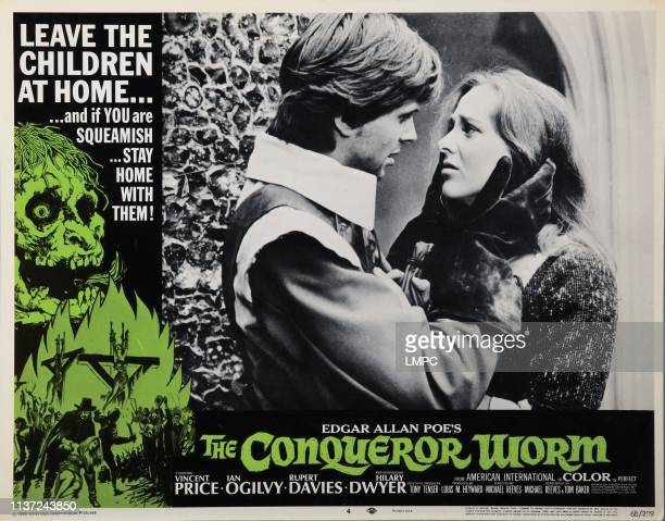 The Conqueror Worm lobbycard Ian Ogilvy Hilary Dwyer 1968