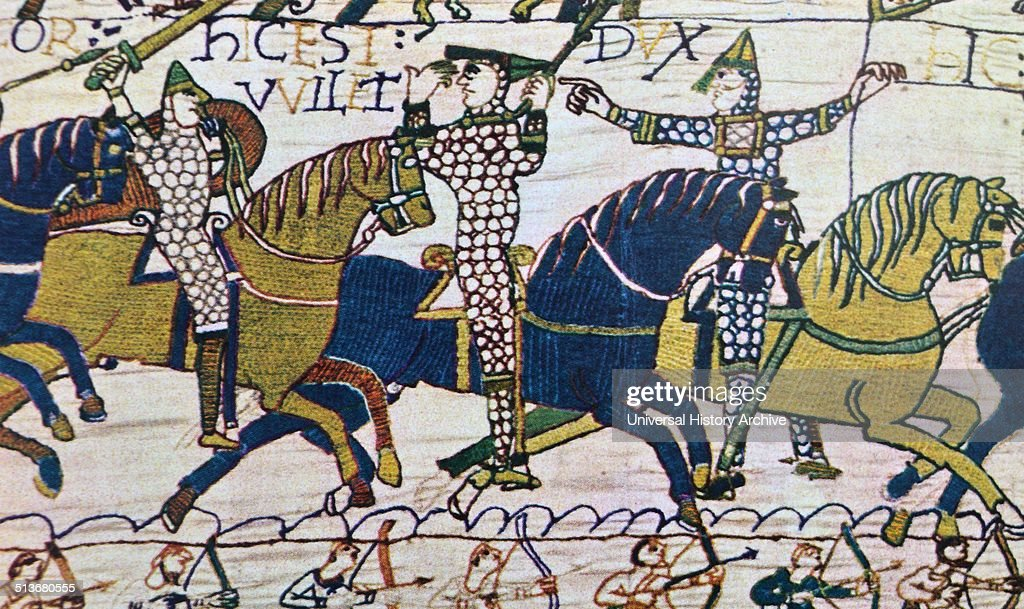 The conquest of England by the Normans. : News Photo