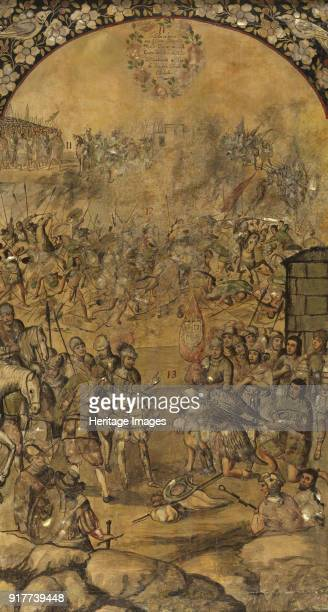 The Conquest of Mexico by Hernan Cortés Found in the Collection of Museo del Prado Madrid