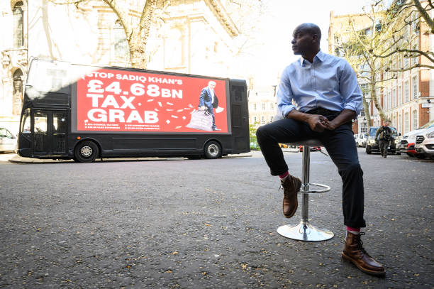 GBR: Shaun Bailey Launches His Mayor's Campaign Bus