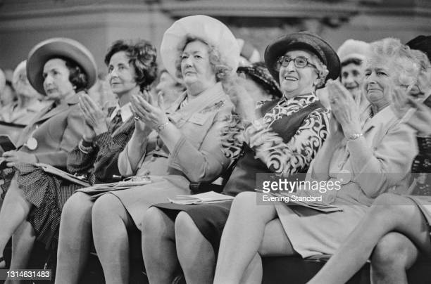 The Conservative Women's Conference, UK, 22nd May 1974.
