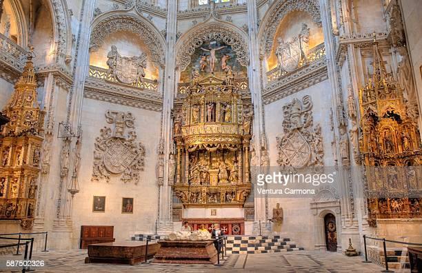 the constable's chapel in burgos (spain) - burgos stock-fotos und bilder