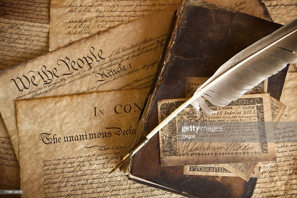 The Constitution : Stock Photo