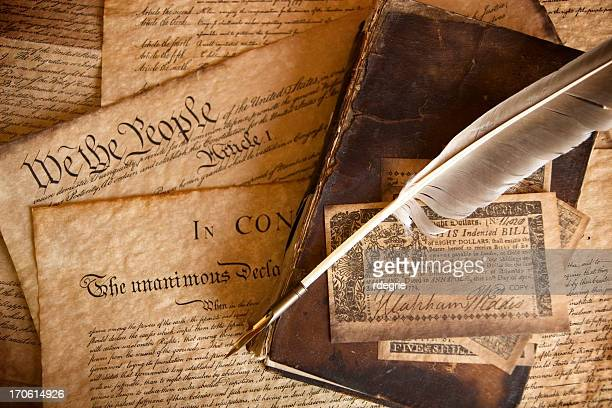 the constitution - us constitution stock pictures, royalty-free photos & images