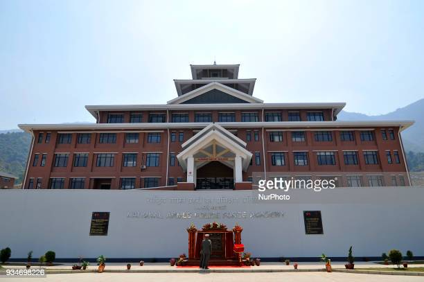 The constructed building of National Armed Police Force Nepal Academy Academy at Matatritha Kathmandu Nepal on Monday March 19 2018 China aided...