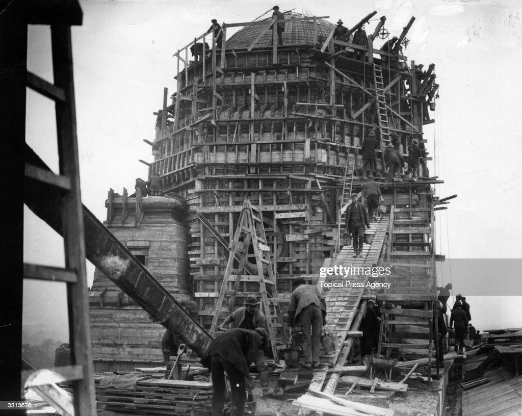 Stadium Construction : News Photo