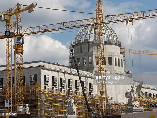 The construction site Berlin city castle