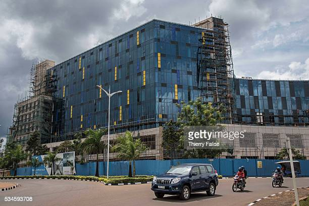 The construction site of an office building in downtown Kigali Kigali with a population of more than one million is Rwandas capital and main city The...